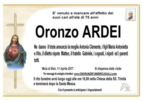 Oronzo ARDEI
