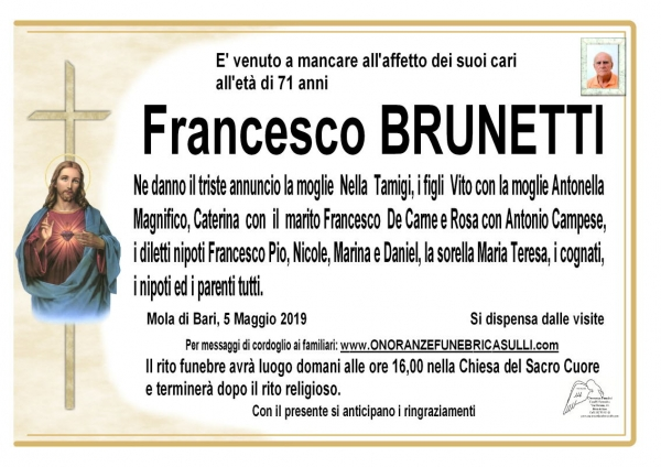 Francesco BRUNETTI