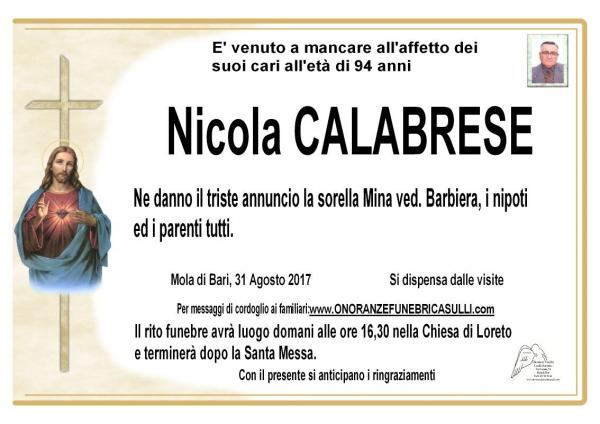 Nicola CALABRESE