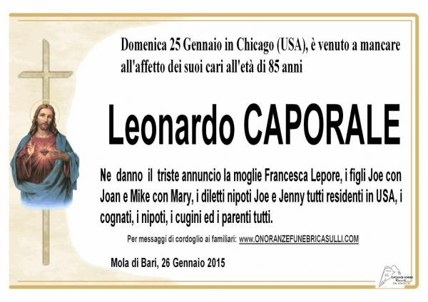 Leonardo Caporale
