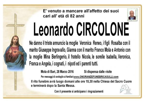 Leonardo Circolone
