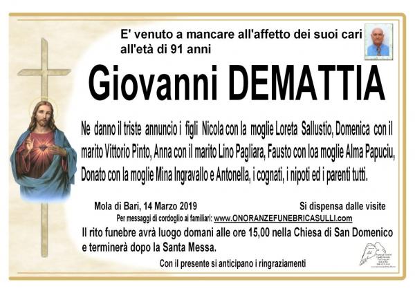 Giovanni DEMATTIA