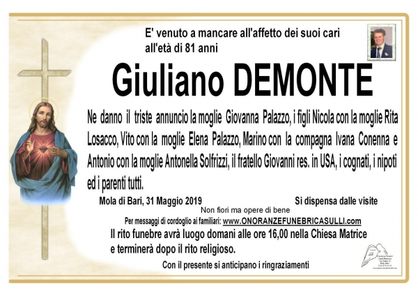 Giuliano DEMONTE