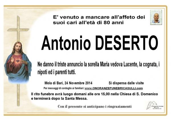 Antonio Deserto