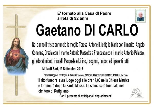 Gaetano DI CARLO