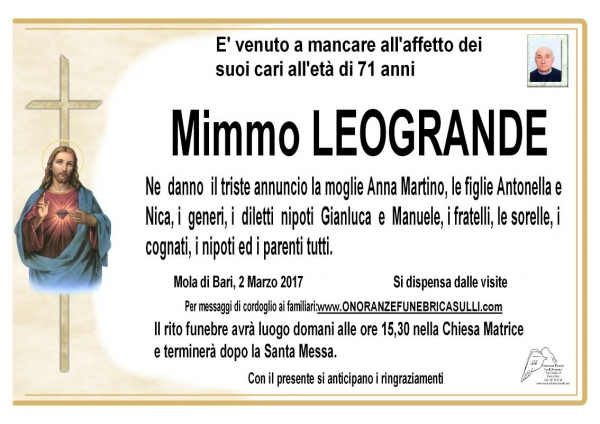 Domenico LEOGRANDE