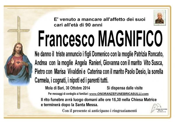 Francesco MAGNIFICO