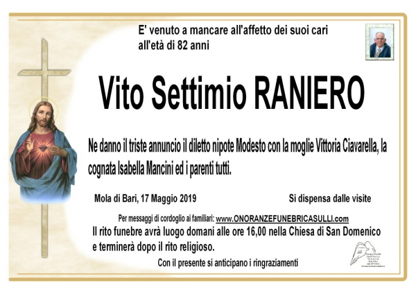 Vito Settimio RANIERO