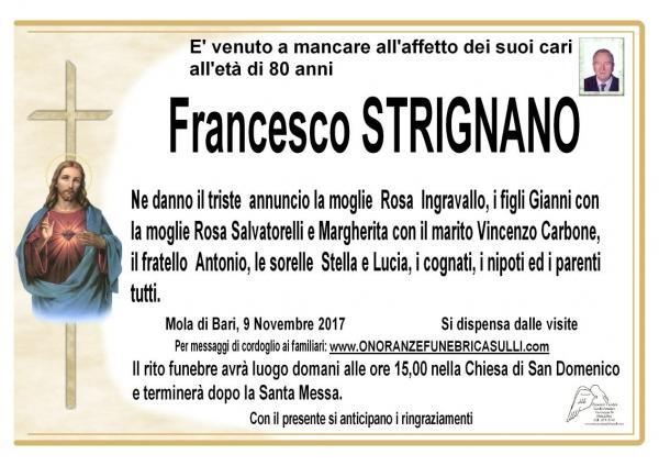 Francesco STRIGNANO