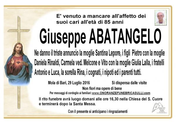 Giuseppe ABATANGELO