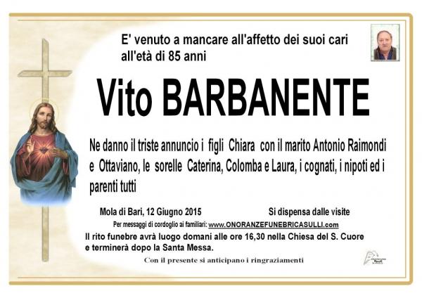 Vito Barbanente