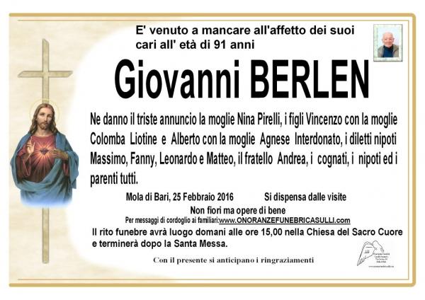 Giovanni Berlen