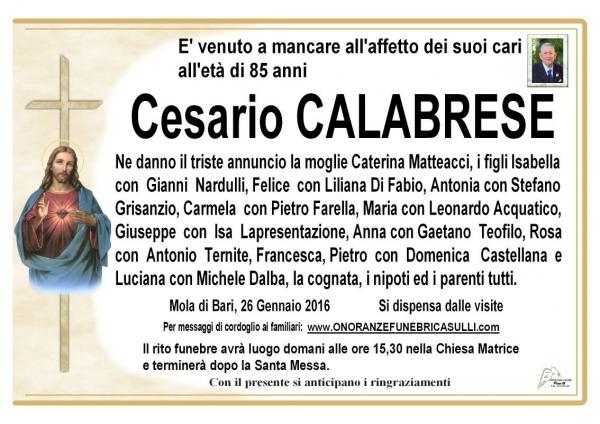 Cesario Calabrese