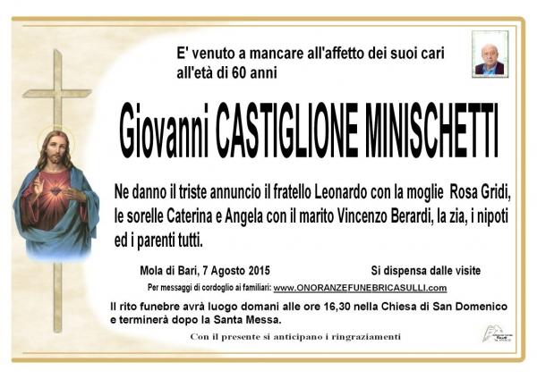 Giovanni Castiglione Minischetti