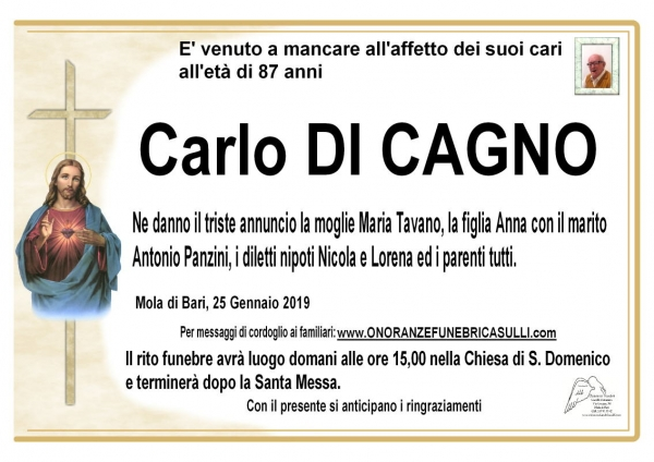 Carlo DI CAGNO