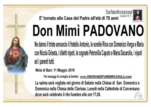 Domenico PADOVANO