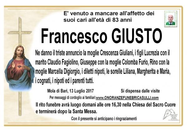 Francesco Giusto