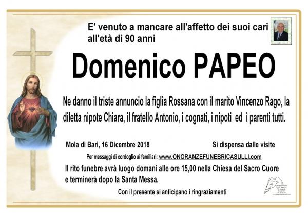 Domenico Papeo