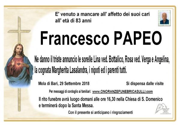 Francesco Papeo