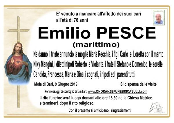 Emilio PESCE