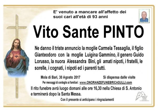 Vito Sante Pinto