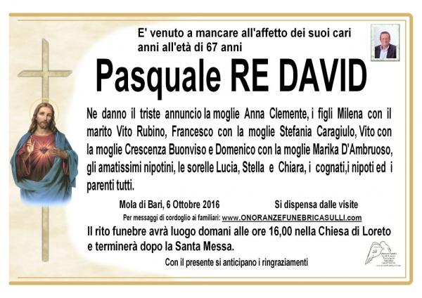 Pasquale Re David