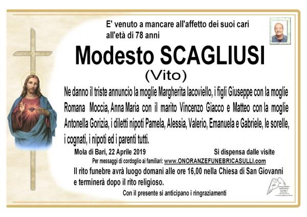 Modesto SCAGLIUSI