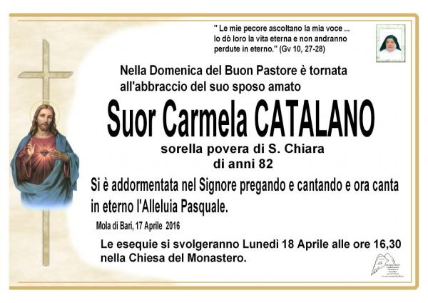 Suor Carmela Catalano