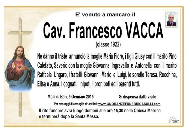 Francesco Vacca