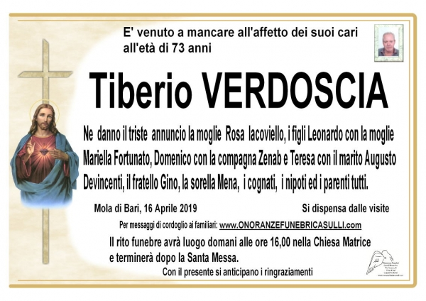 Tiberio VERDOSCIA