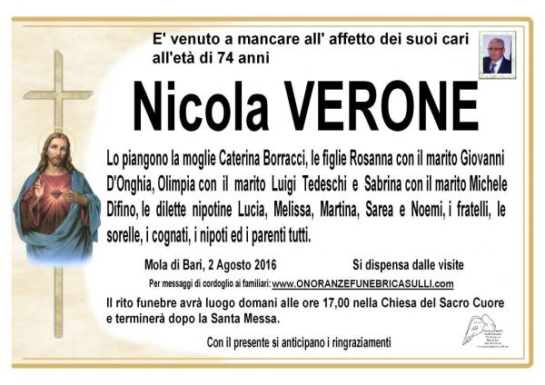 Nicola VERONE