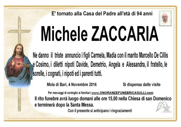 Michele Zaccaria