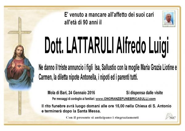 Alfredo Luigi Lattaruli