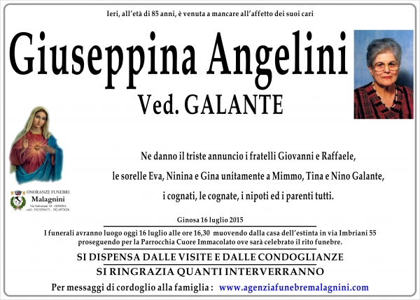 Giuseppina Angelini