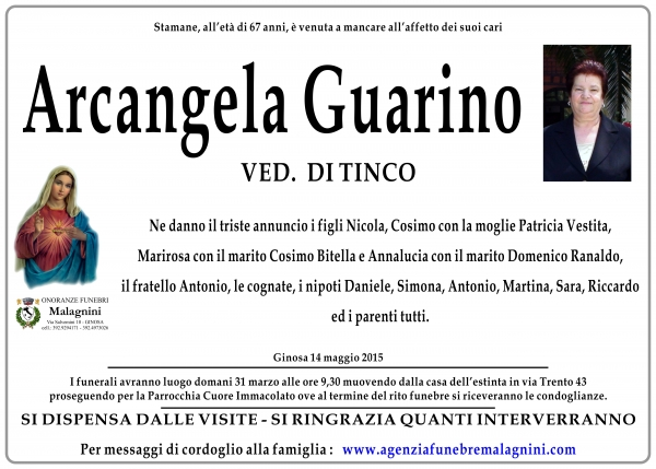 Arcangela Guarino