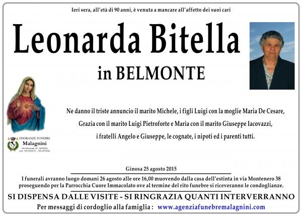 Leonarda Bitella