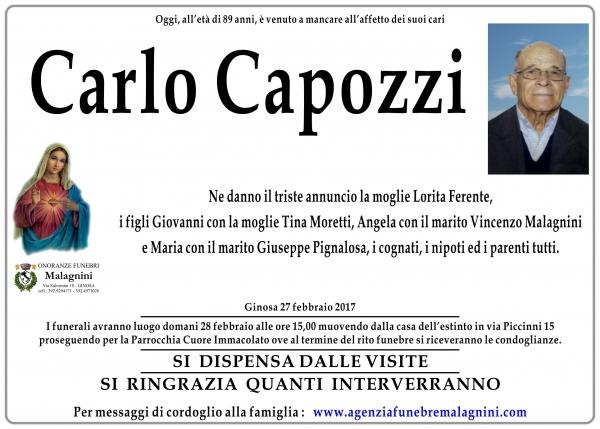 Carlo Capozzi