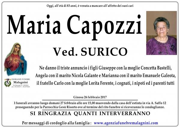 Maria Capozzi