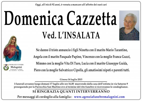 Domenica Cazzetta