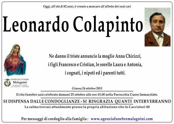 Leonardo Colapinto