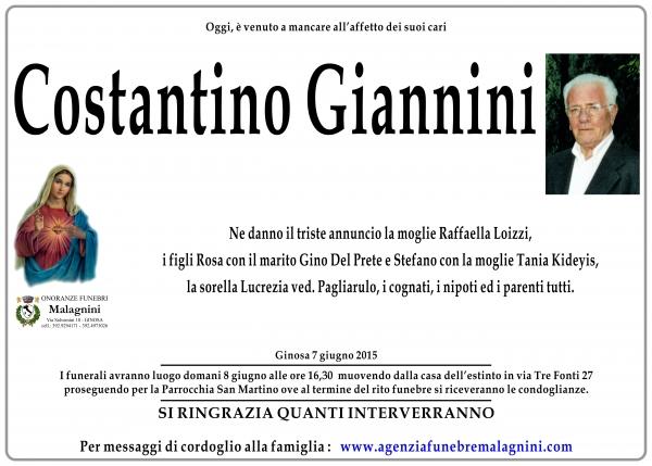 Costantino Giannini