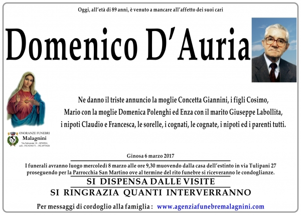 Domenico DAuria