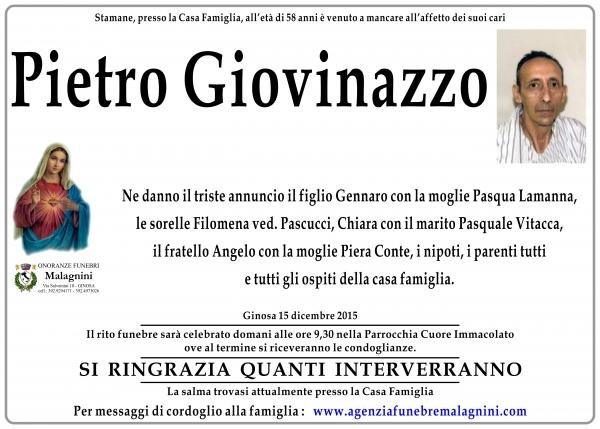 Pietro Giovinazzo