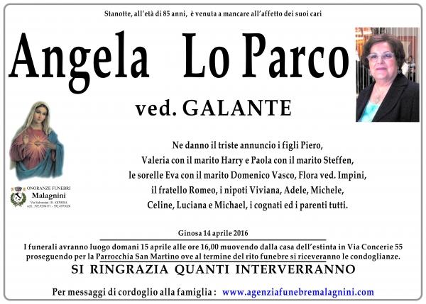 Angela Lo Parco
