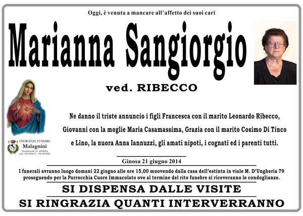Marianna Sangiorgio