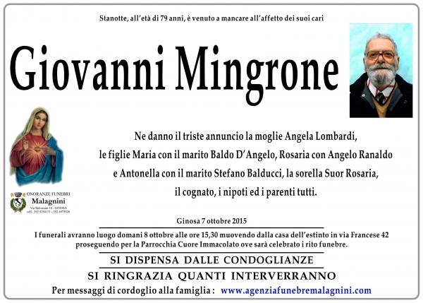 Giovanni Mingrone