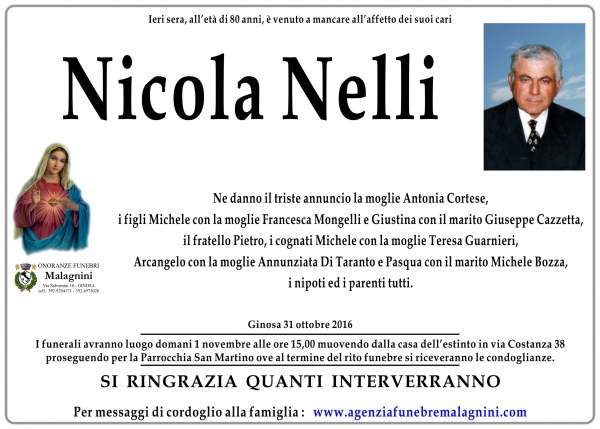 Nicola Nelli