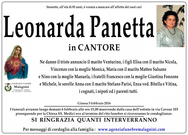 Leonarda Panetta