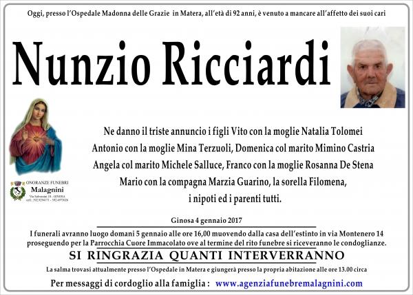 Nunzio Ricciardi