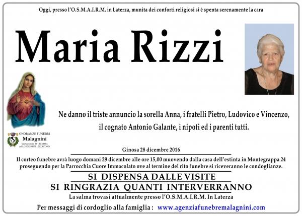 Maria Rizzi
